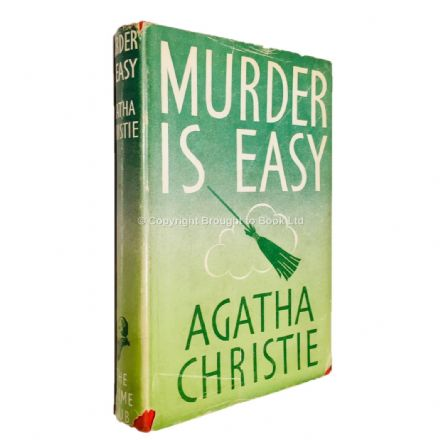 Murder is Easy by Agatha Christie Fourth Impression Collins, The Crime Club 1949